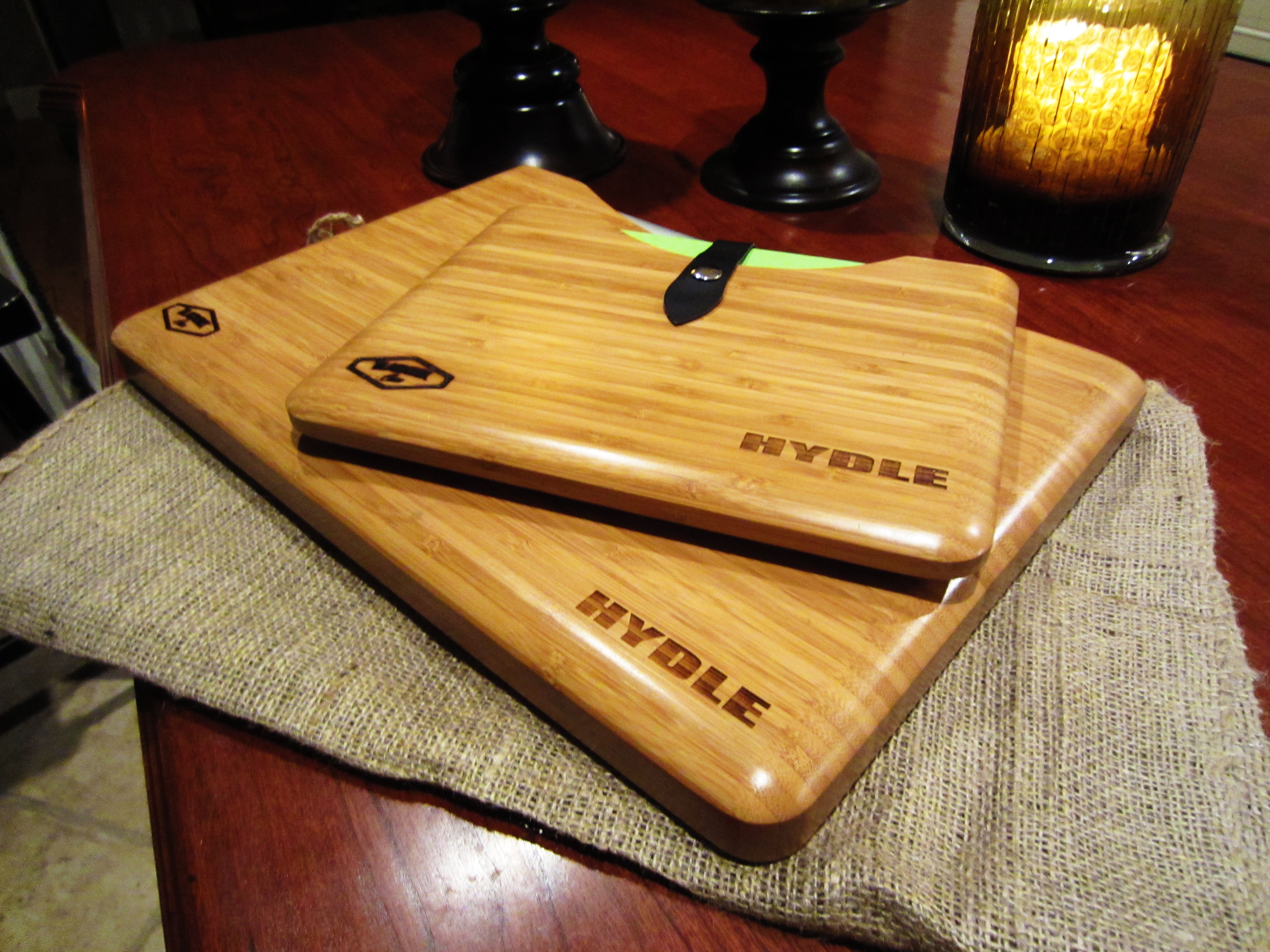 Hydle Bamboo Blackbox Cases